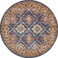 Unique Loom Rhea Utopia Round Rug - 8' x 8'