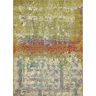 Unique Loom Crumpled Outdoor Area Rug - 8' x 11' 4