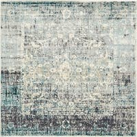 Unique Loom Myrtle Cambridge Square Rug - 6' x 6'