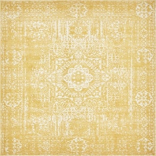 Unique Loom Maria Tradition Area Rug (Yellow - 27 x 10 Runner)