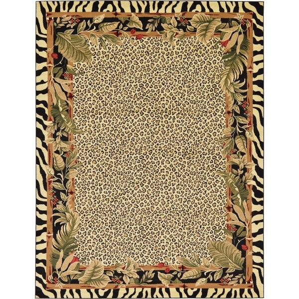 Dog Themed Outdoor Rugs: Shop Unique Loom Jungle Wildlife Area Rug