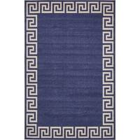 Unique Loom Modern Athens Area Rug - 6' x 9'