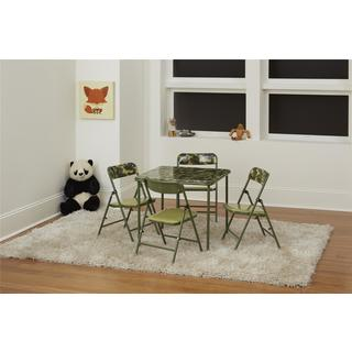 COSCO Green Kids 5pc Vinyl Set, Camo with Green Frame