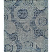 Unique Loom Rippling Outdoor Area Rug - 10' x 12'