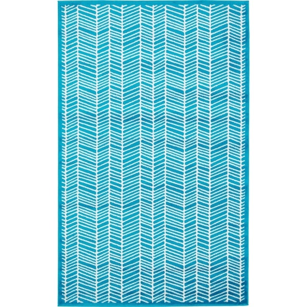 Unique Loom Metro Feather Area Rug