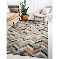 Unique Loom Forest Chimera Area Rug - 5' x 8'