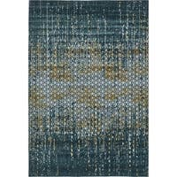 Unique Loom Honeycomb Chimera Area Rug - 7' X 10'
