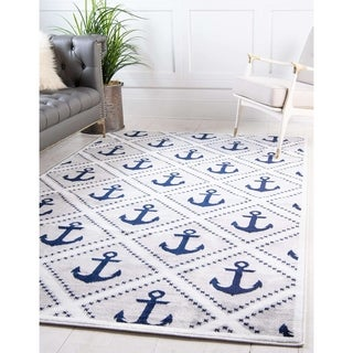 Unique Loom Metro Anchor Area Rug