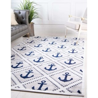 Unique Loom Metro Anchor Area Rug - 5' x 8'