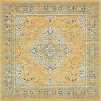 Unique Loom Nicole Tradition Square Rug - 8' 4 x 8' 4