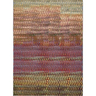 Unique Loom Wavy Outdoor Area Rug - 8' x 11' 4