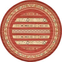 Unique Loom Pasadena Fars Round Rug - 12' 2 x 12' 2