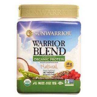 Sunwarrior Natural Warrior Blend 13.2-ounce Plant Based Organic Protein
