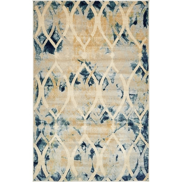 Shop Unique Loom Mystic Daintree Rug 5 X 8 On Sale