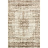 Unique Loom Maui Cambridge Area Rug - 7' X 10'