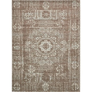 Unique Loom Maria Tradition Area Rug (Light Brown - 9 x 12)