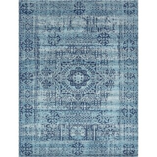 Unique Loom Maria Tradition Area Rug (Turquoise - 84 x 84 Square)
