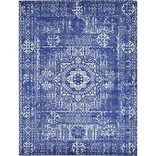 Unique Loom Maria Tradition Area Rug (Royal Blue - 9 x 12)