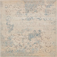 Unique Loom Beech Paris Square Rug - 8' x 8'