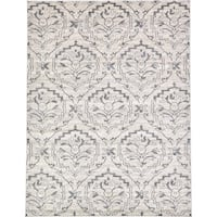 Unique Loom Lively Damask Area Rug - 9' x 12'