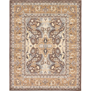 Turkish Heritage Tradition Abstract Area Rug (8' x 10')