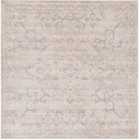 Unique Loom Willow Kensington Square Rug - 8' 0 x 8' 0