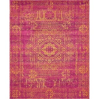 Unique Loom Maria Tradition Area Rug (Fuchsia - 9 x 12)