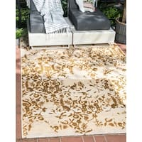 Unique Loom Ivy Eden Outdoor Area Rug - 10' x 12'