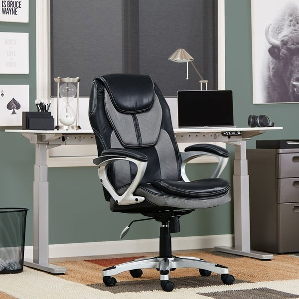 Office Furniture Free Shipping: Shop Serta Works Executive Office Chair