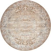 Unique Loom Grant Chateau Round Rug - 8' x 8'