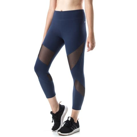 5f4ef8ecca Figur Activ Women's Mesh Sport Capri Yoga Running Legging. $29.99. See Price  in Cart
