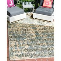 Unique Loom Vintage Outdoor Area Rug - 10' x 12'