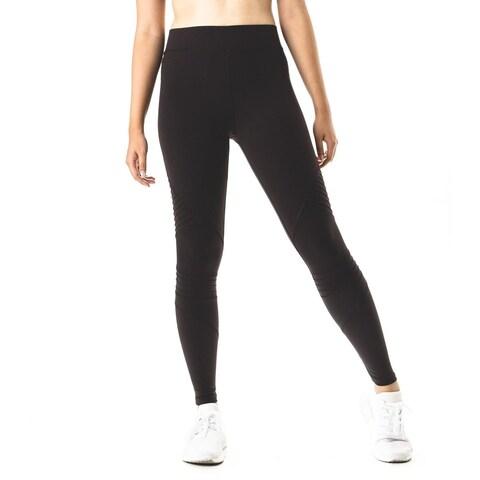Figur Activ Women's Moto Performance Active Workout Sports Yoga Leggings