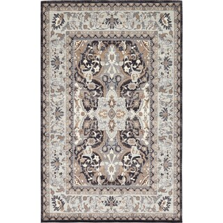 Tradition Brown/Beige Abstract Area Rug (9' x 12') (2 options available)