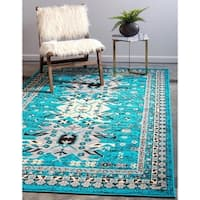 Unique Loom Oasis Taftan Area Rug - 8' x 10'