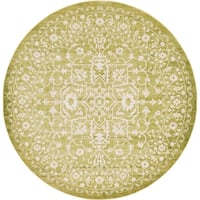 Unique Loom Olympia New Classical Round Rug - 8' x 8'