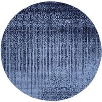 Unique Loom Jennifer Del Mar Round Rug - 8' x 8'