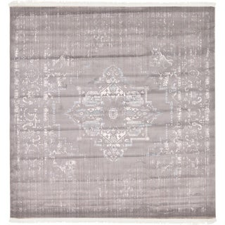 Unique Loom Attiki New Classical Area Rug (Ivory - 8 x 8 Square)