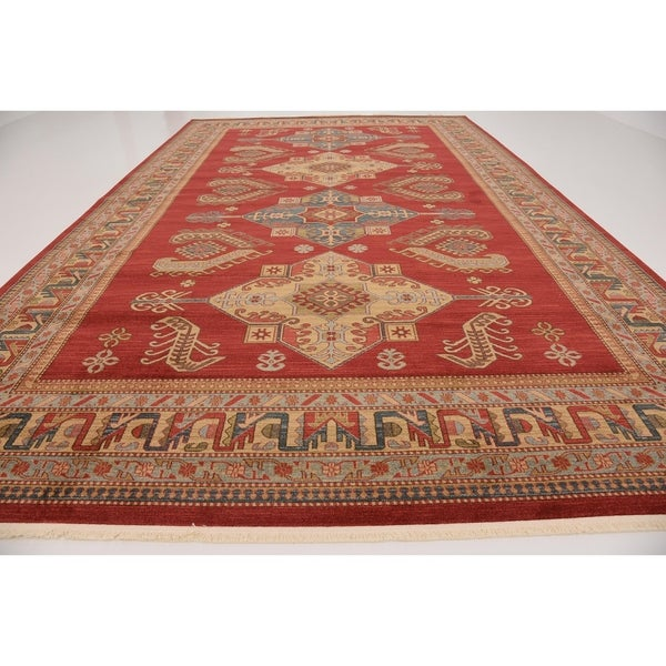 serapi red floral area rug 10u00276 x 16u00275 free shipping today