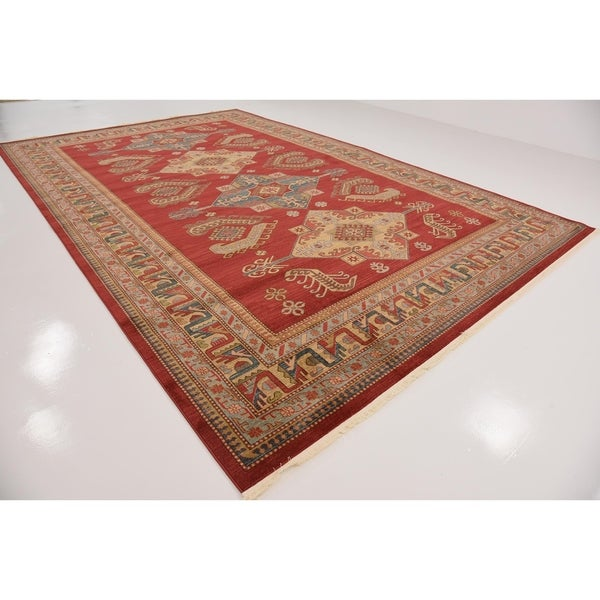 turkish serapi red floral area rug 10u00276 x 16u00275 free shipping today