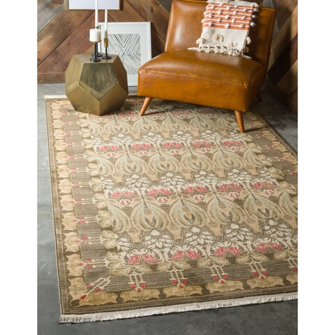 Unique Loom Carnation Edinburgh Area Rug - 10' 6 x 16' 5