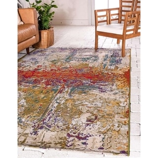 Link to Unique Loom Outdoor Crumpled Area Rug Similar Items in Rugs