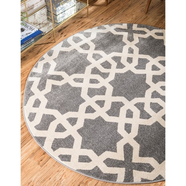 Unique Loom Charlotte Trellis Area Rug