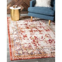 Unique Loom Clef Aria Area Rug - 7' 0 x 9' 10