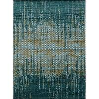 Unique Loom Honeycomb Mirage Area Rug - 9' 9 x 13' 6