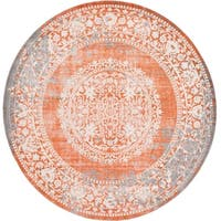 Unique Loom Olwen New Classical Round Rug - 8' Round