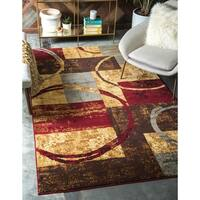 Unique Loom Kouillou Barista Area Rug - Multi - 9' X 12'