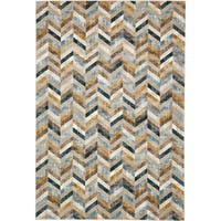 Unique Loom Forest Mirage Area Rug - 7' 0 x 10' 0