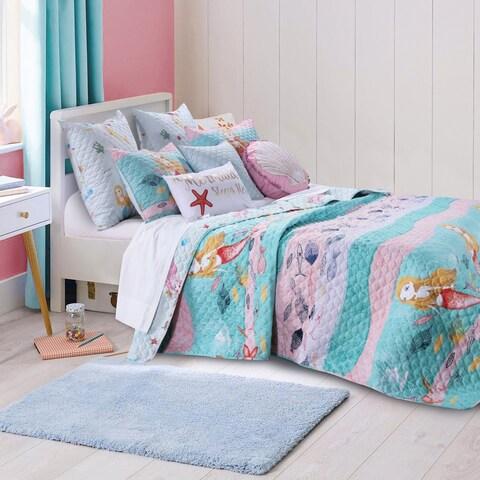 Mermaid 3-piece Quilt Set