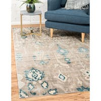 Unique Loom Breeze Paris Area Rug - 9' x 12'